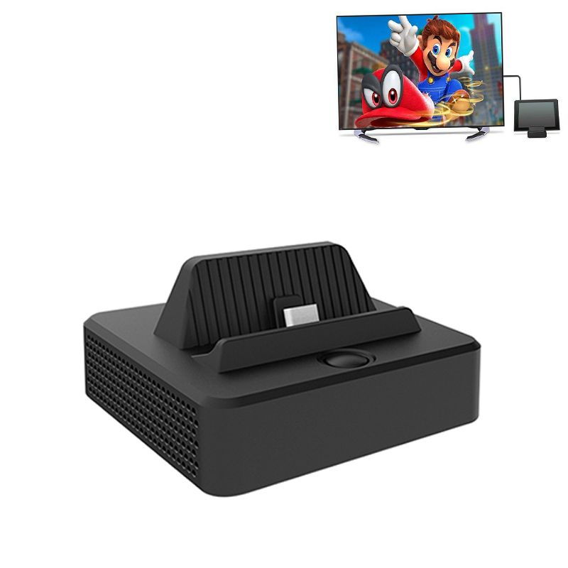 For Nintend Switch NS Console Type C TV Dock Base Video Converter HDMI Output Dock Station Mount Case Display and Charge USB 3.0