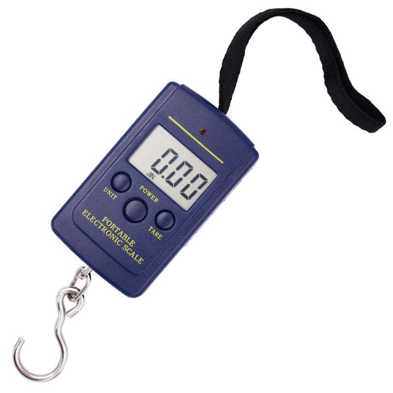 Tragbare LCD Elektronische Digital Pocket Skala 10g/40 kg Gewicht Angeln Hängende Waage Waage 15% off