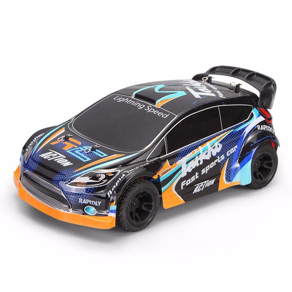 Wltoys A242 1:24 vier-rad drive rc auto 2,4G fernbedienung racing wüste off-road drift auto rally auto geschwindigkeit 35km legierung
