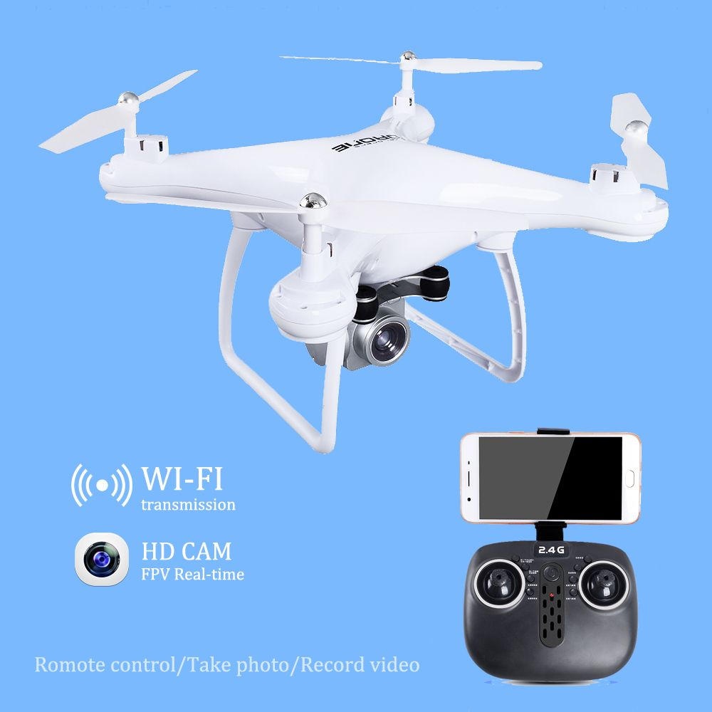 Drone with WiFi Camera Real-time Transmit FPV Quadcopter HD Camera Dron 2.4G 4CH RC Helicopter VS VISUO XS809HW JJRC H37