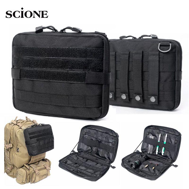 Sac tactique de système militaire EDC sac à dos MOLLE armée sacs poche Sport de plein air multi-fonction sac en Nylon 1000D étanche XA732WA