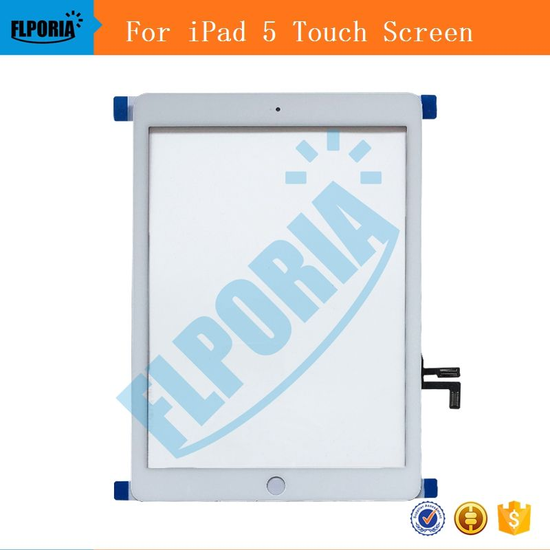 A1822 MATERIAL A1823 Touchscreen Für iPad 5 Generation 5 Digitizer Outer LCD Panel Frontglas Tablet-Panel Für iPad 5 Touchscreen