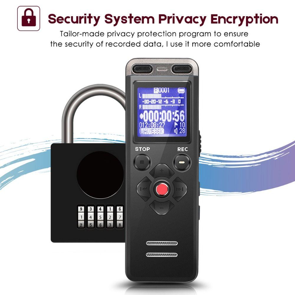 Professionelle Tragbare Digitale Voice Recorder MP3 Aufnahme Stift 8 GB MINI Telefon Dictaphone WAV MP3 Versteckter Mit Eingebautem Mikrofon