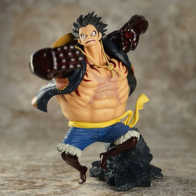 17cm One piece Gear fourth Monkey D Luffy Anime Collectible Action Figure PVC toys for christmas gift free shipping