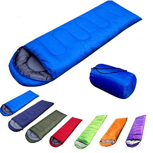 Outdoor Camping Ultraleichte Umschlag Einzigen Warmen Schlafsack mit Aufbewahrungstasche