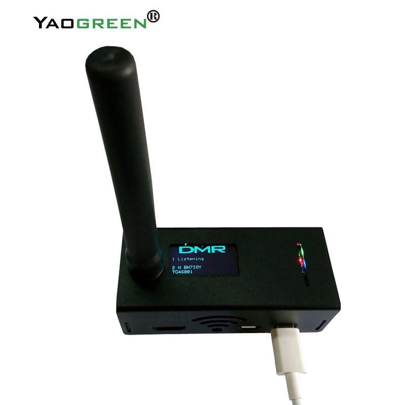 Remote Walkie Talkie Montiert getestet MMDVM Hotspot P25 DMR YSF + Raspberry pi + OLED Hotspot + 16g TF karte BEREIT ZU QSO 2