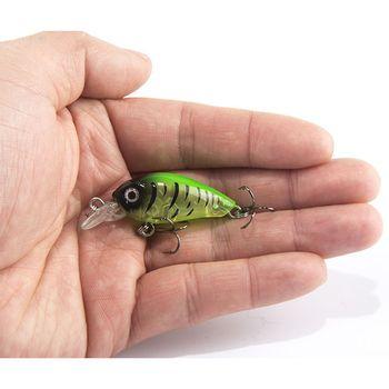 1 шт. 4 см 4,5 г Плавание рыбной ловли приманка искусственный жесткая рукоятка приманки topwater японский воблер мини рыболовная приманка воблер