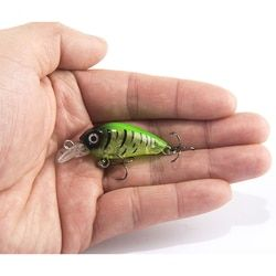 1 шт. 4 см 4,5 г приманка для рыбной ловли, искусственная жесткая рукоятка, приманка, японский воблер, мини-рыболовная приманка воблер
