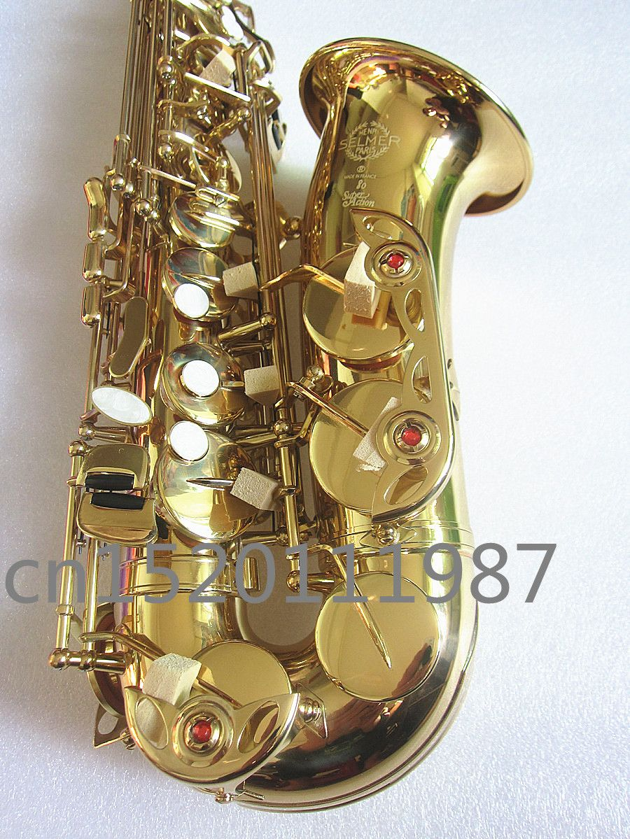 Alto Saxophone instrument High quality SELMER SAS-802 Alto Saxophone instrument Real picture The way the gift is shipped