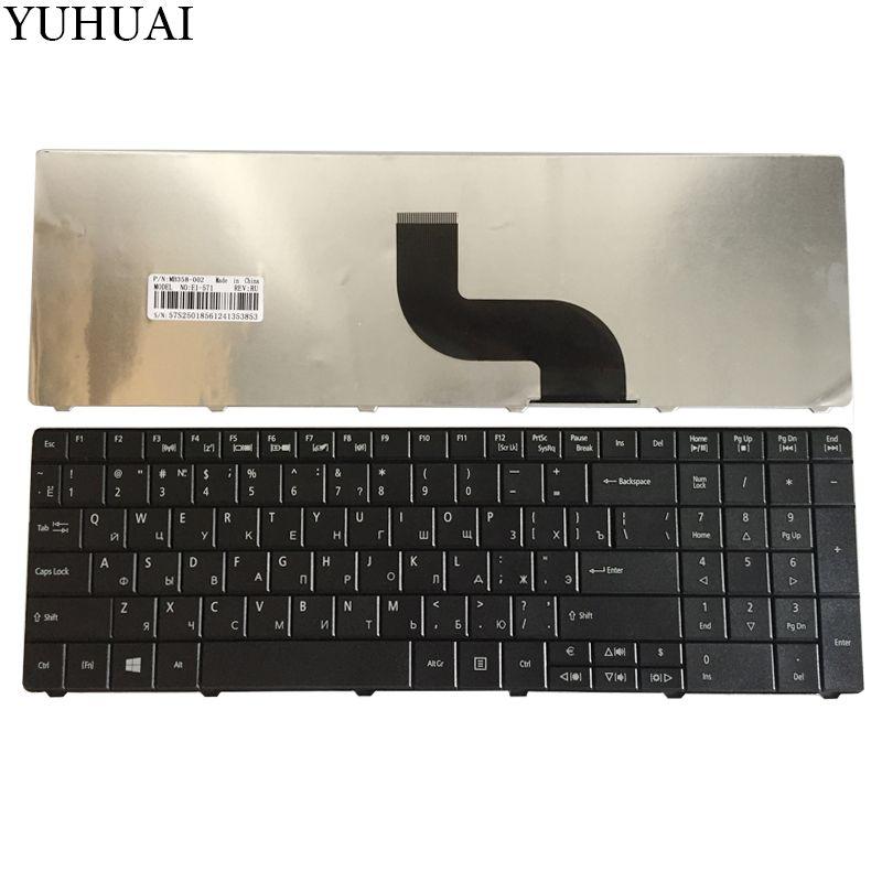 New RU Laptop keyboard FOR Acer Aspire E1-571G E1-531 E1-531G E1 521 531 571 E1-521 E1-571 E1-521G Black Russian