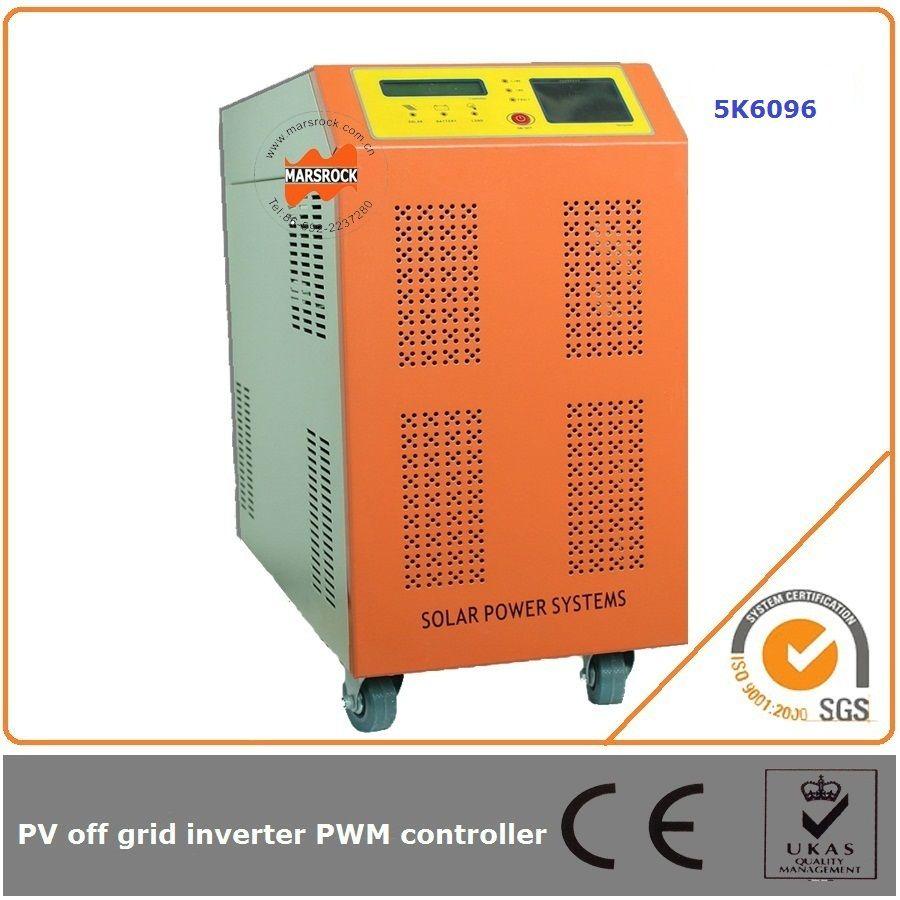 5000 Watt 96 V 60A netzferne solarwechselrichter und laderegler einfache led-anzeige zeigt arbeitsstatus deutlich