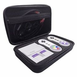 Hard Travel Carrying Case for Nintendo Super NES SNES Classic Mini Console, 2 Controllers, HDMI Cable and other Accessories