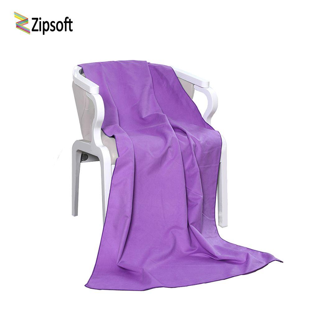 Zipsoft Marque serviette De Plage De Bain En Microfibre Serviettes Tapis De Yoga Compact Voyage Gym Sport Camping Piscine 2017 séchage rapide Doux