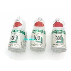 3 Botol Gigi Benang Sekali Pakai Gingiva Pencabutan Kabel Hijau Rajutan Kapas Garis Gusi Dokter Gigi Bahan Ukuran 0 00 000