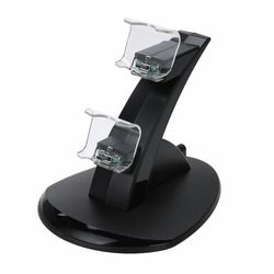 Dual USB Handle Fast Charging Dock Station 5V output Stand Charger for Playstation 4 PS4 Controller