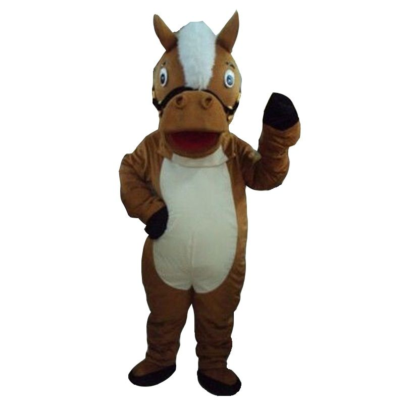 Hot sale! Horse mascot costumes free shipping for sale anime carnival costume Halloween Dress kids party free shipping