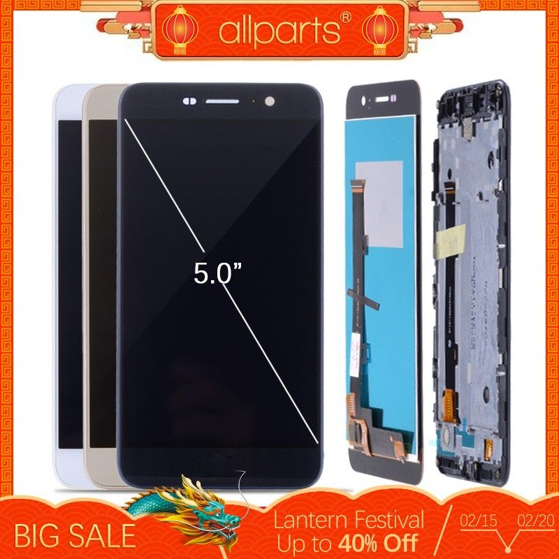 ORIGINAL 5.0'' LCD Display For HUAWEI Honor 4C Pro TIT-L01 LCD Touch Screen with Frame For HUAWEI Y6 Pro Display Replacement #4