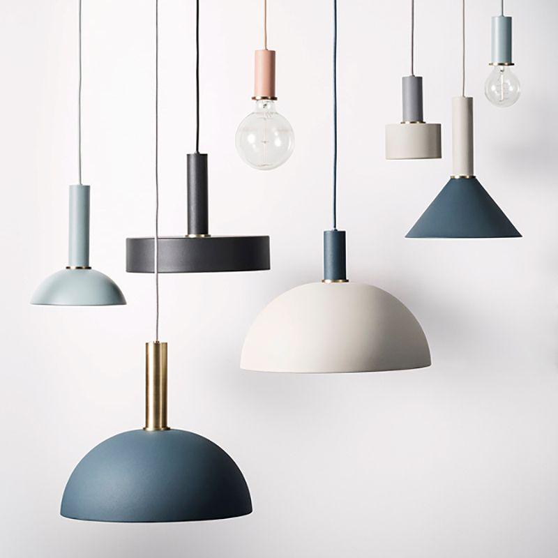 American Country Creative Wood iron Pendant light Lamp iron metal Hanging Lamp Nordic Designer Light Art Deco Lighting Abajur