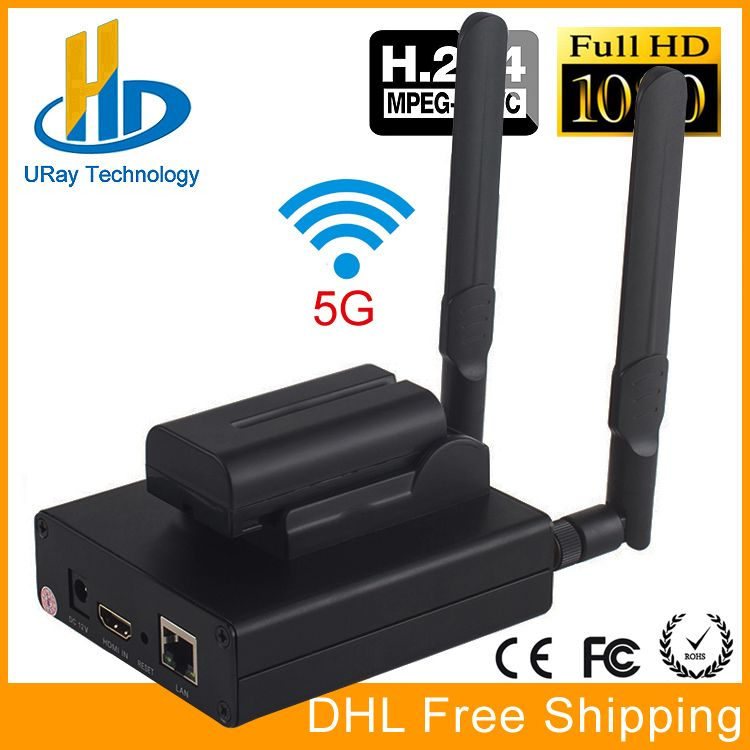 MPEG-4 H.264 HD Wireless WiFi HDMI Encoder IP Encoder H.264 For IPTV, Live Stream Broadcast, HDMI Video Recording RTMP Server