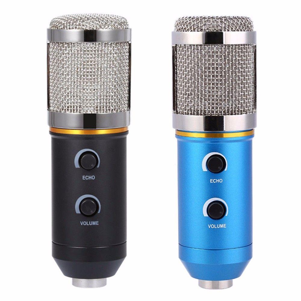 TGETH MK-F200TL Microphone réglable Volume sonore réduction du bruit condenseur KTV Audio Studio enregistrement micro mise à jour MK-F100TL