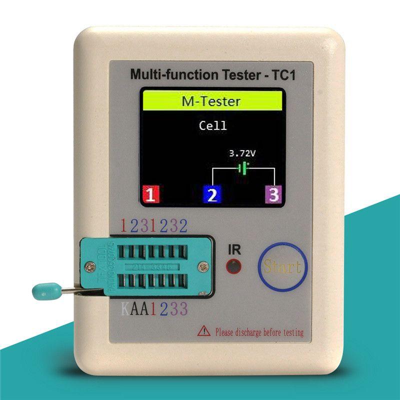 Display Multimeter Multi-functional 1.8inch TFT Backlight Transistor Tester Diode Triode Capacitor Resistor Transistor LCR ESR