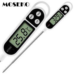 MOSEKO Горячая продажа цифровой кухонный термометр для мяса воды молока Приготовления Пищи Зонд для барбекю электрическая плита термометр ку...