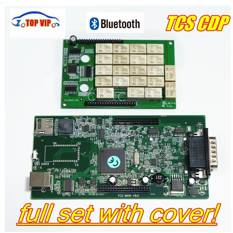 Newest 2016.00 free activate TCS CDP Bluetooth New vci NEC Relays for CAR/TRUCK/Generic OBD2 Diagnostic Tool as Multidiag pro