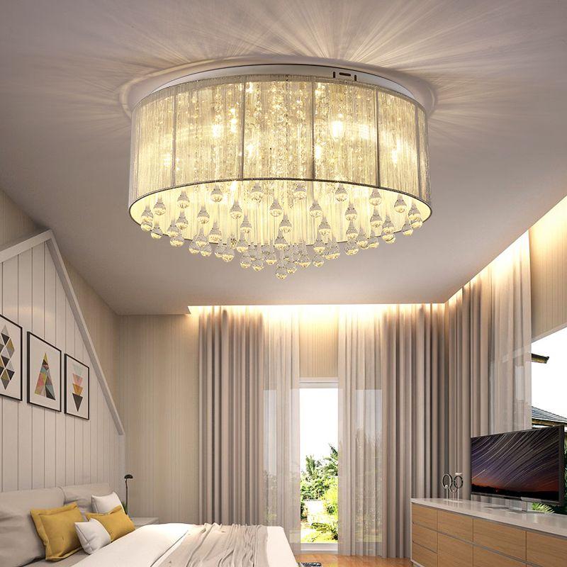 2019 plafonniers modernes pour l'éclairage intérieur de la maison lampara de techo lampes LED pour le salon luminaria teto pendente