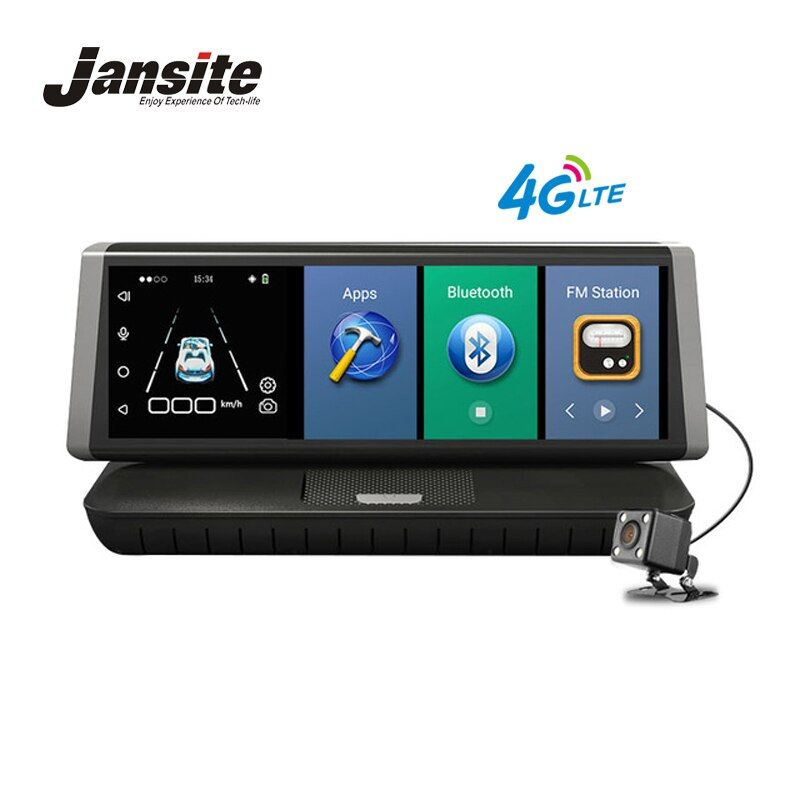 Jansite Car Dvr 4G Android 5.1 Wifi GPS 8