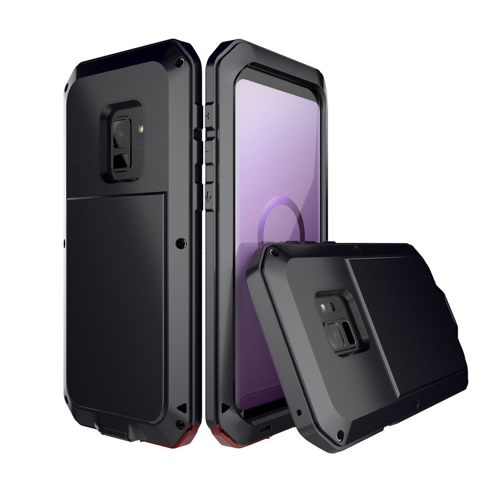 Full Protective Luxury Doom Armor Heavy Duty Case NOTE 9 Metal Case Shockproof Cover For Samsung S8 S8plus Note 8 S9 S9Plus case