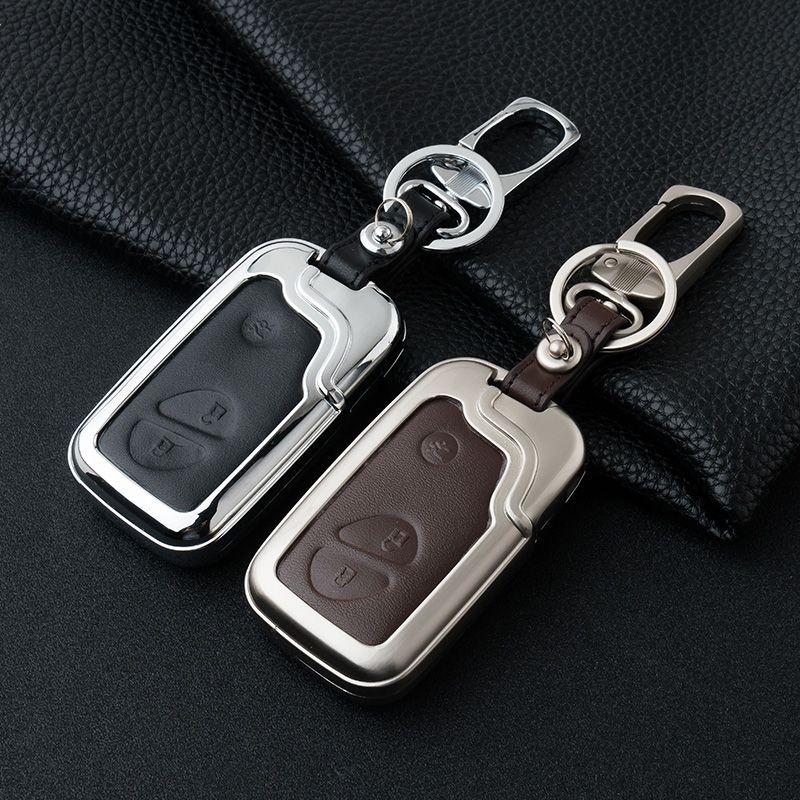 Leder auto Schlüssel fob fall abdeckung brieftasche für Lexus IS250 RX270 RX350 RX300 CT200H ES250 ES350 RX NX GS keychain ring schlüssel halter tasche