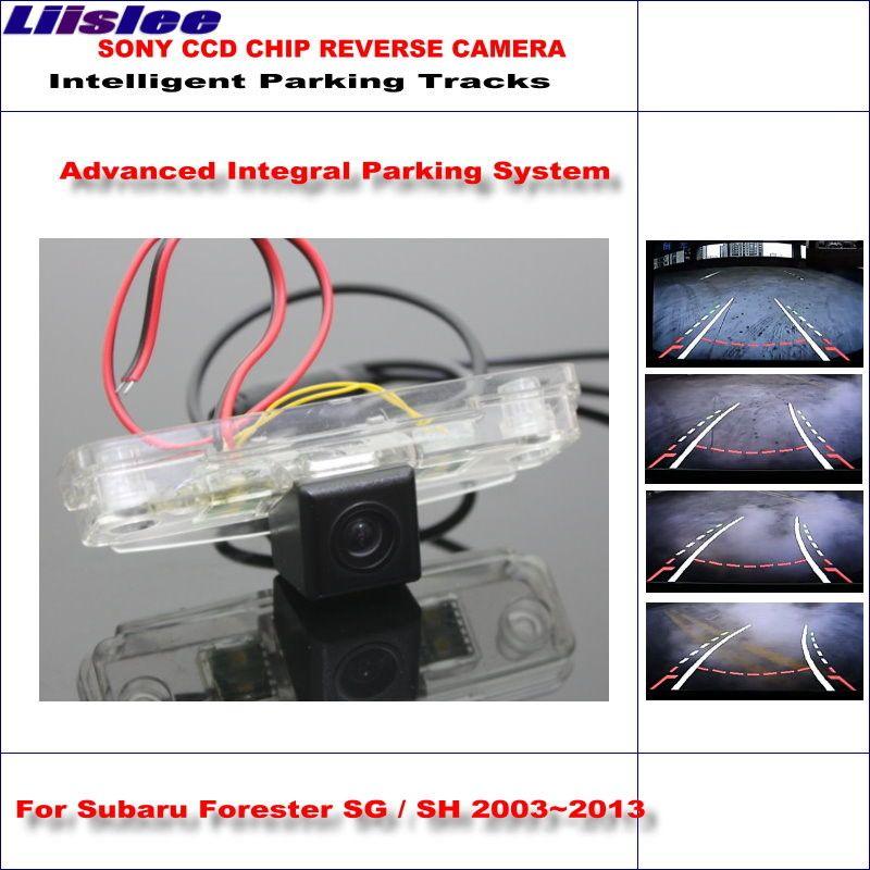Liislee Dynamische Beratung Rückfahrkamera Für Subaru Forester SG/SH 2003 ~ 2013/580 Tv-linien HD 860 Pixel Parkplatz Intelligentized