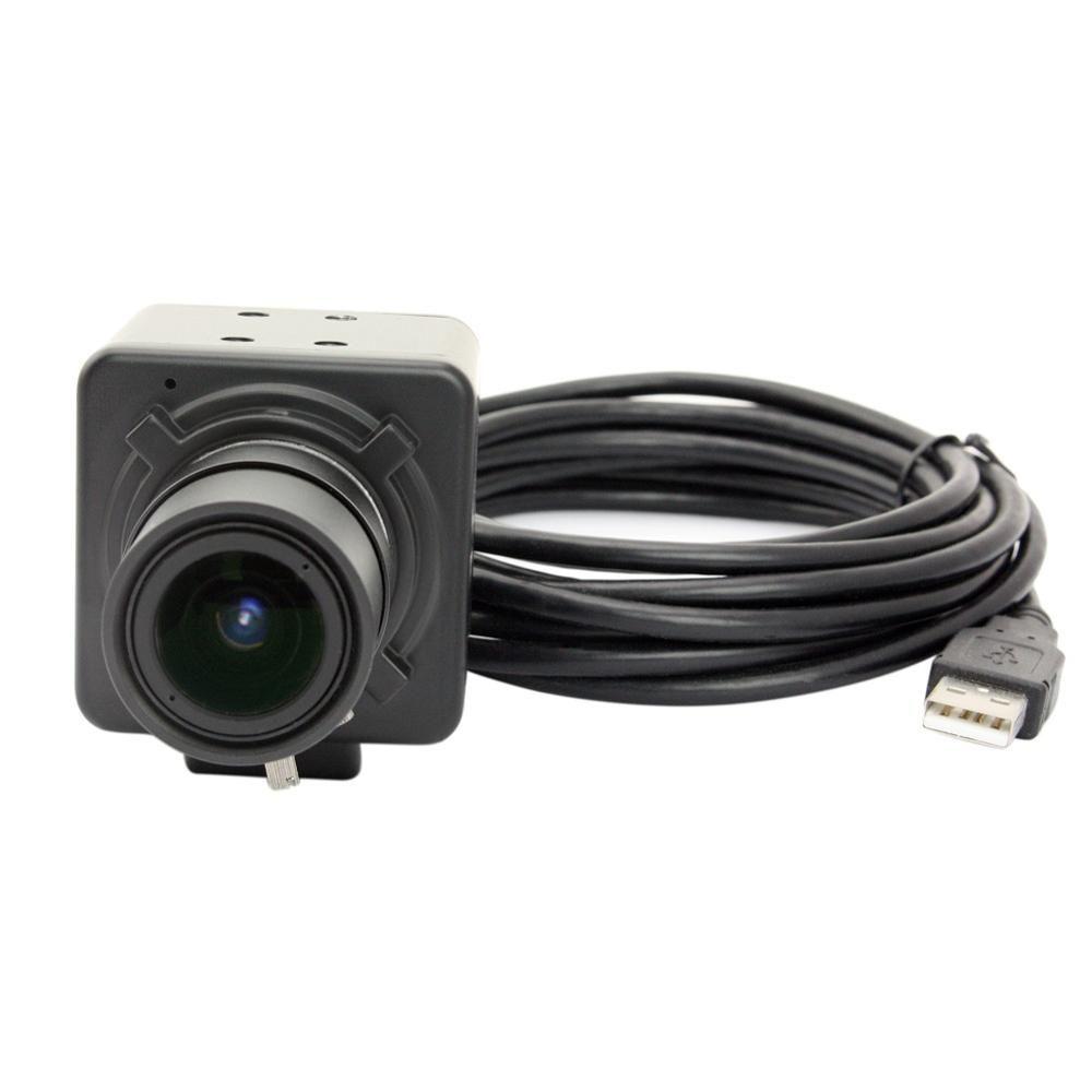 1080p CMOS OV2710 high frame MJPEG 120fps @480P 2.8-12mm varifocal Manual Iris Varifocal Lens CCTV Security Mini Usb Camera 2MP