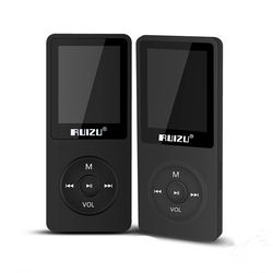 RUIZU X02 MP3 Player 4G/8G/16G Portable Mp3 Can Play 80 hours With FM Radio E-Book,Clock,Voice Recorder Free Original Earphone