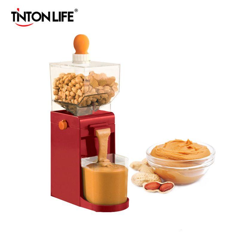 TINTON VIE Électrique Petit Moulin Machine Ménage Électrique Beurre D'arachide Maker Alimentaire Processeurs