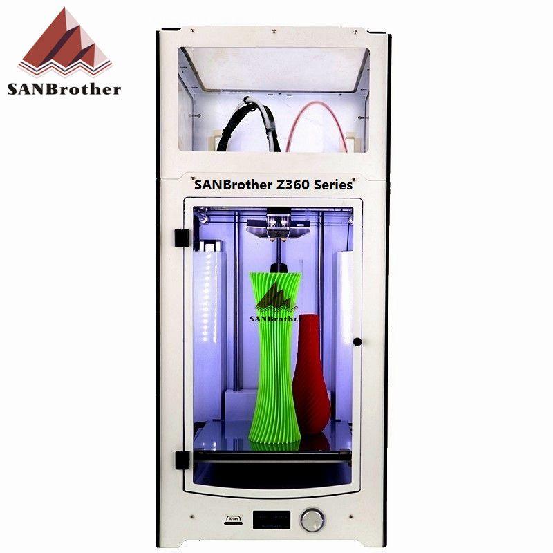 SANJIUPrinter Z360 Dual Extruder Drucker Mit Top Abdeckung und Tür Mehr Höher Als Ultimaker 2 + Erweiterte Top Qualität.