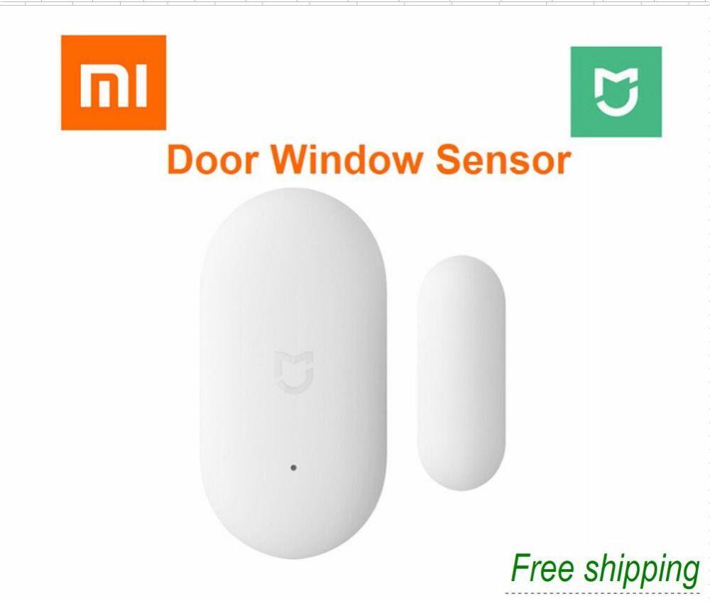 2018 xiaomi porte fenêtre capteur de poche taille xiaomi maison intelligente Kits système d'alarme travail avec passerelle mi jia mi maison app