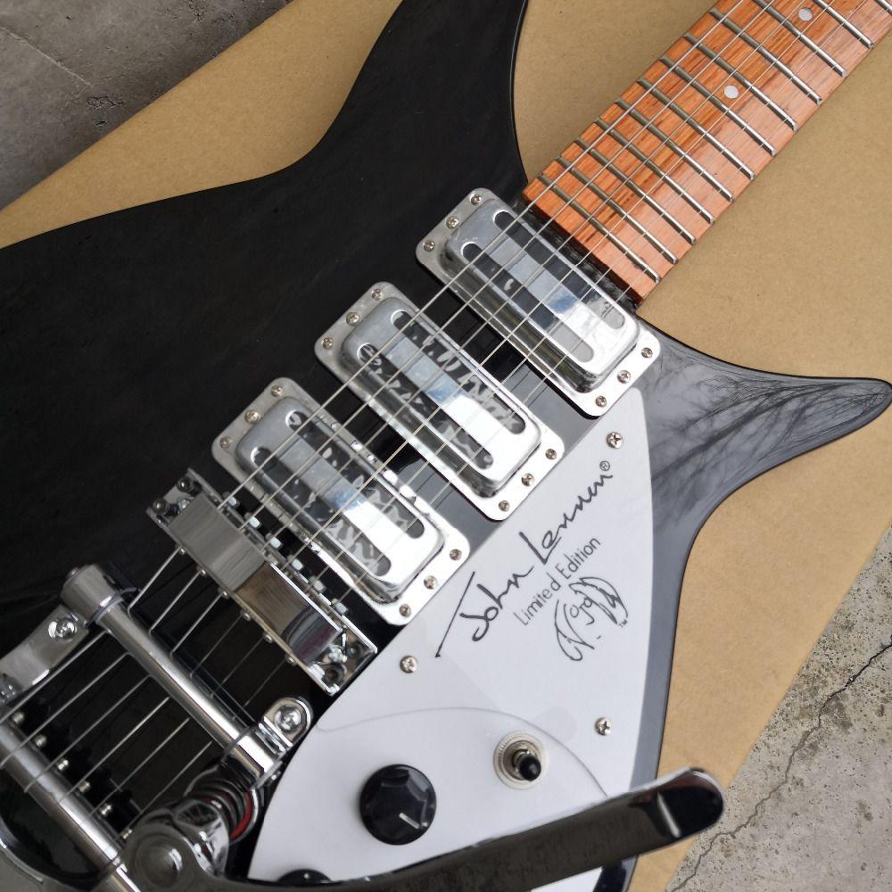 325 elektrische gitarre griffbrett hat lack kurzen hals Akkord abstand 527 mm