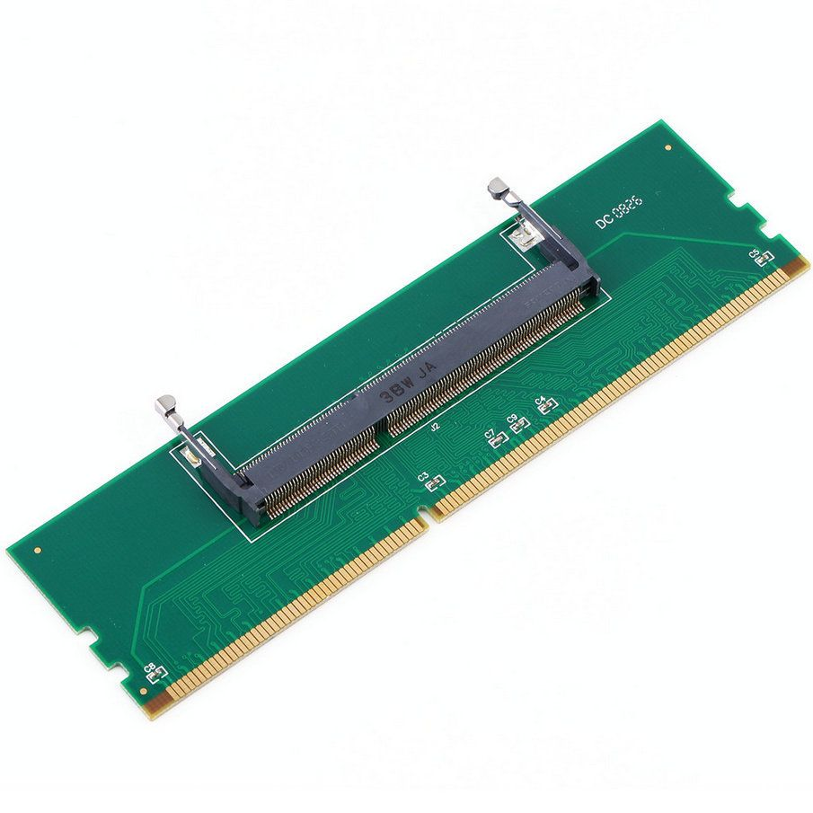 1pc DDR3 Laptop SO-DIMM to Desktop DIMM Memory RAM Connector Adapter DDR3 New Hot Quality