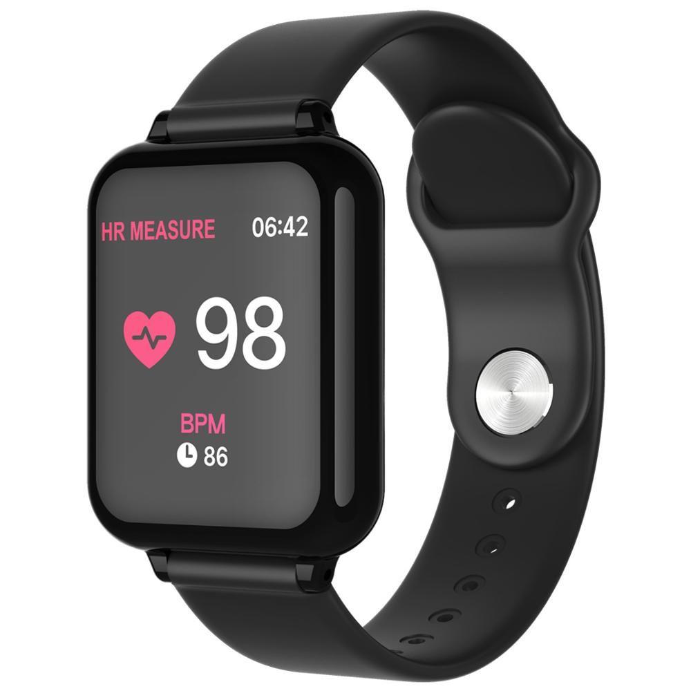 Hommes femmes enfants Sport montre intelligente Fitness Bracelet Bluetooth smartwatch enfants Bracelet pour Android IOS PK B57 Smart Bracelet de montre