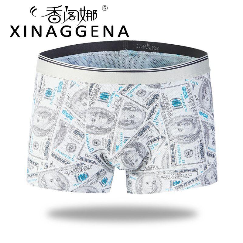 Casual Hombres Boxers Marca Calzoncillos Boxer Hombre Sexy Bragas de la Ropa Interior Modal Sólido Dólares Populares Pantalones Cortos Al por Mayor