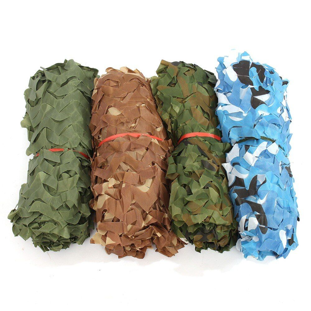 2*3M Camouflage net Camo Hunting Camping Military Photography camo net Sun <font><b>Shelter</b></font> Jungle Blinds Car-covers Net