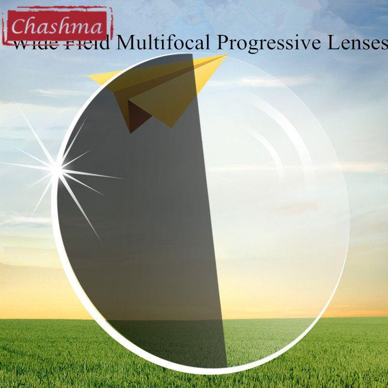 Chashma 1.67 Index Photochromic Verifocal Glass Anti Reflective UV400 Multifocal Transition Progressive Lenses