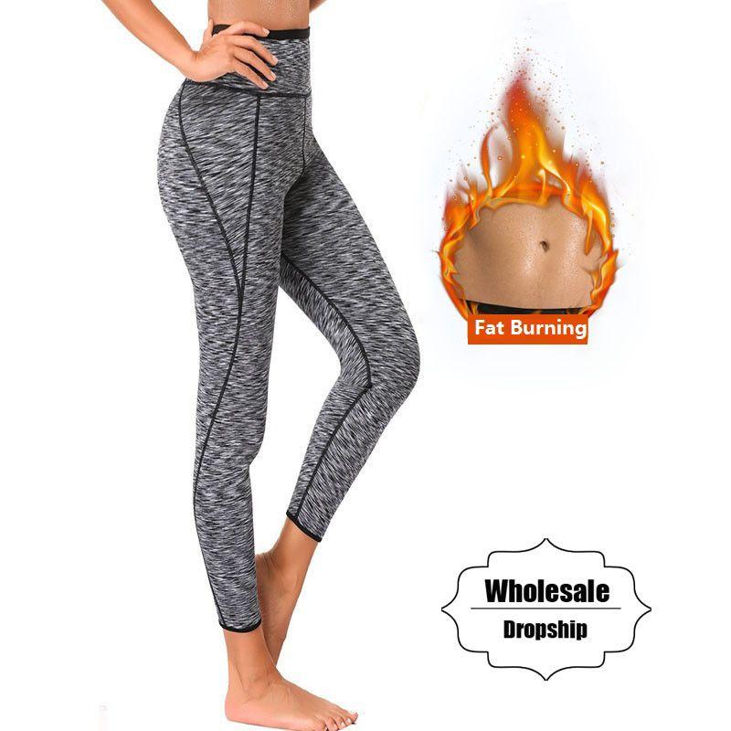 NINGMI Hot Pants Women Keep Warming Sweat Sauna Neoprene Short Legging Control Panties Body Shaper Waist Trainer Slimming Pant