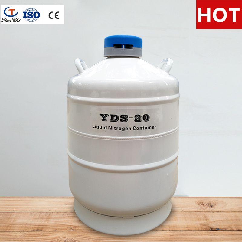 TIANCHI flüssigstickstofftank 20 L cryogenic storage samen dewar 20 liter mit straps tragetasche