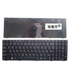 России новая клавиатура для ноутбука LENOVO G580 Z580A G585 Z585 G590 Z580 RU Клавиатура ноутбука