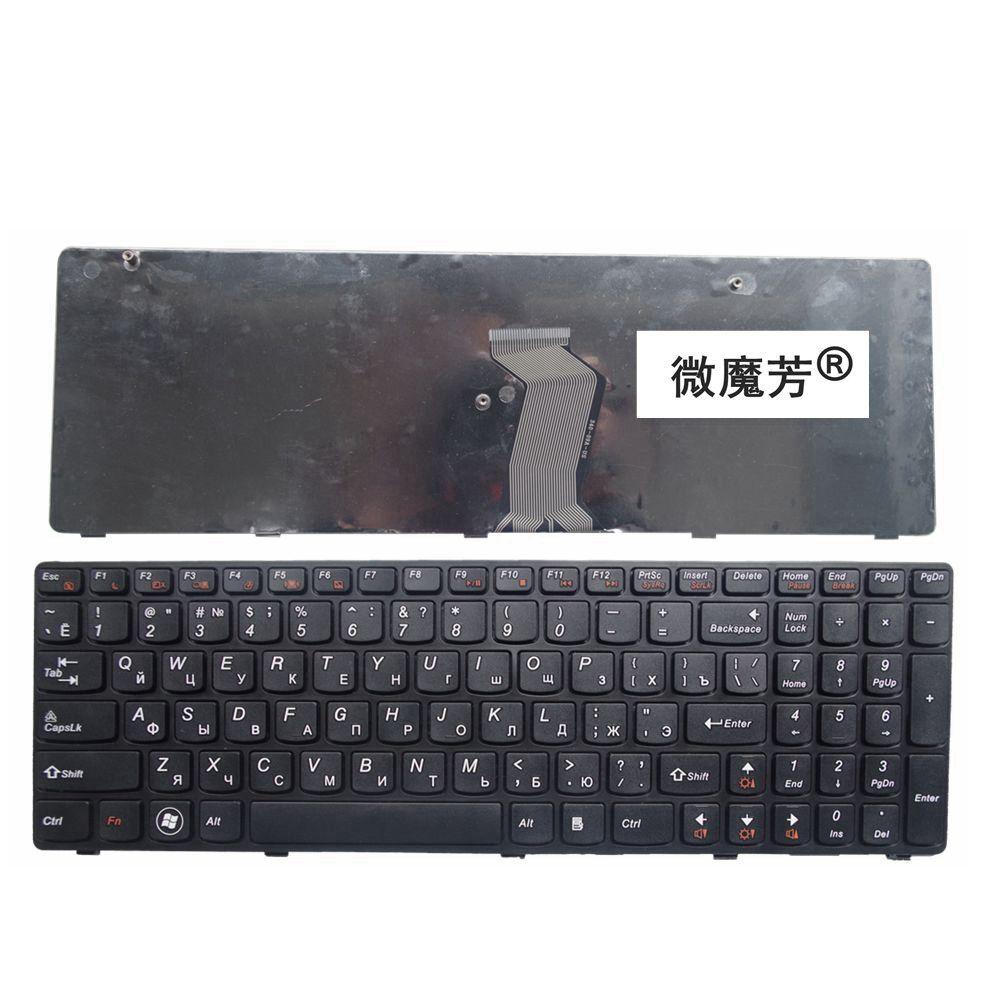 Russie nouveau clavier pour LENOVO G580 Z580A G585 Z585 G590 Z580 RU clavier d'ordinateur portable