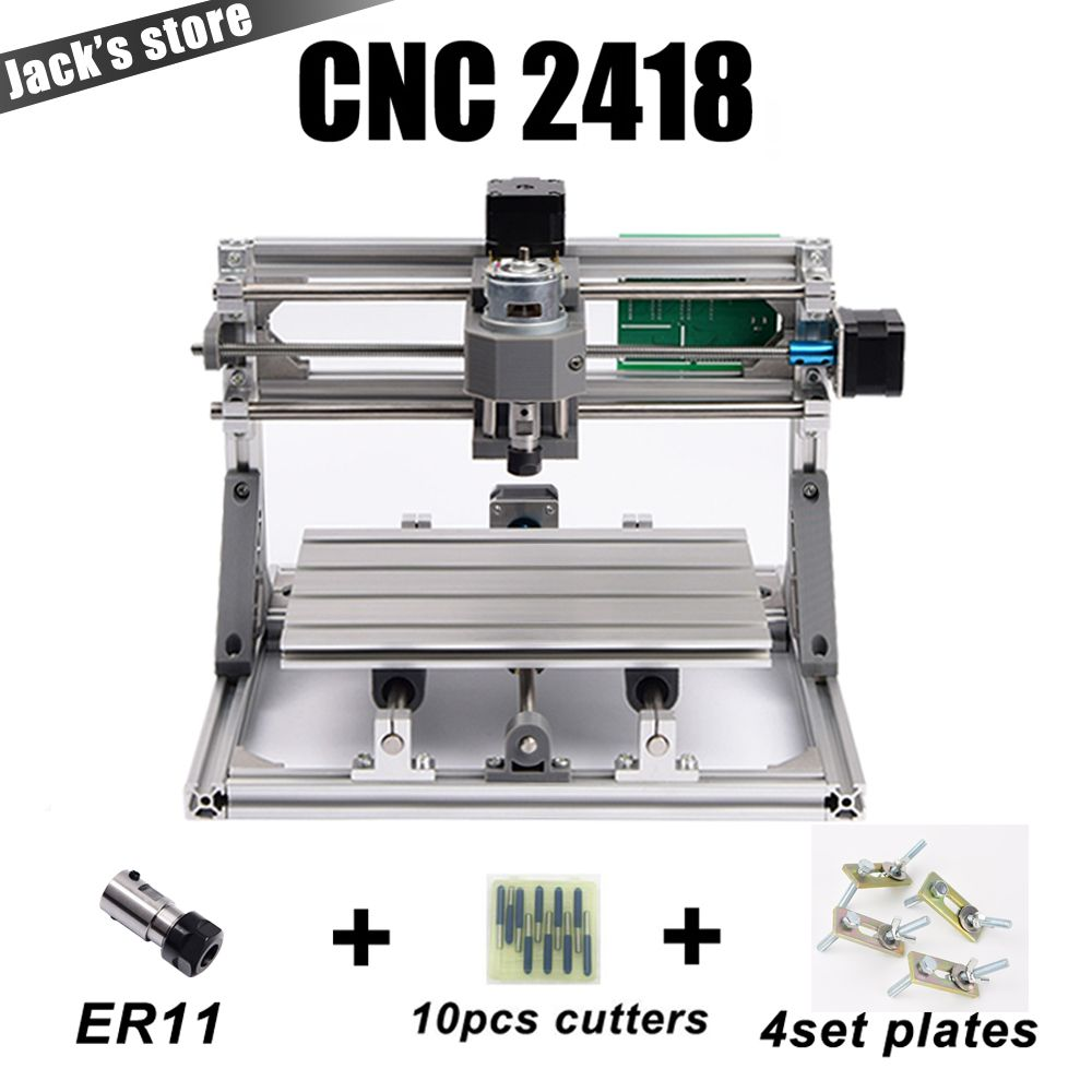 cnc 2418 with ER11,cnc engraving machine,Pcb <font><b>Milling</b></font> Machine,Wood Carving machine,mini cnc router,cnc2418, best Advanced toys