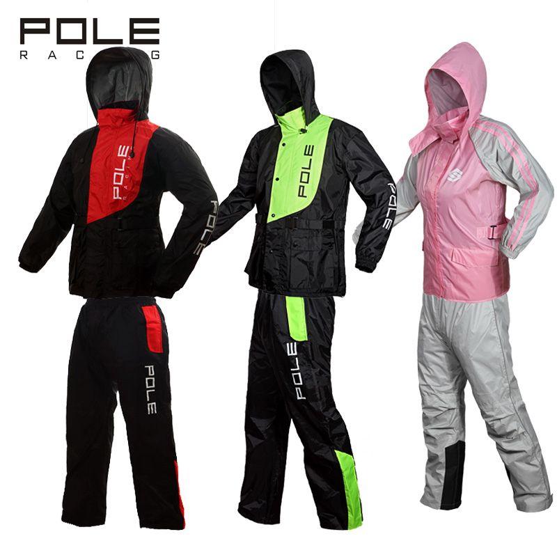 Outdoor Motorrad Sport Regen Jacken Motorrad Regenmantel Anzug Motocross Regen Kleidung Anzug Wasserdichte Mantel