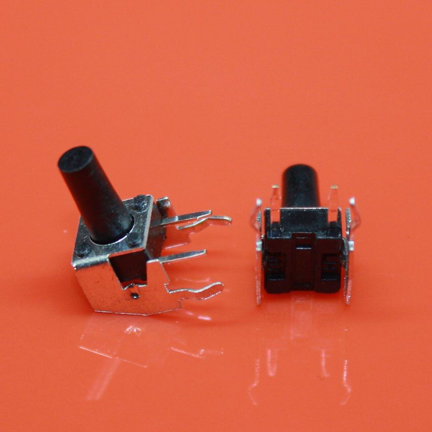 cltgxdd AJ-047  Push Button Switches Side Two Feet with Bracket 6*6*11 SMD-2 Top Actuated Black Series